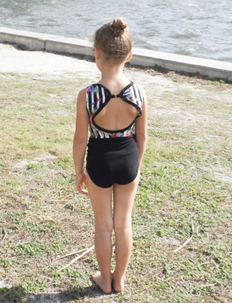 On pointe leotard 4